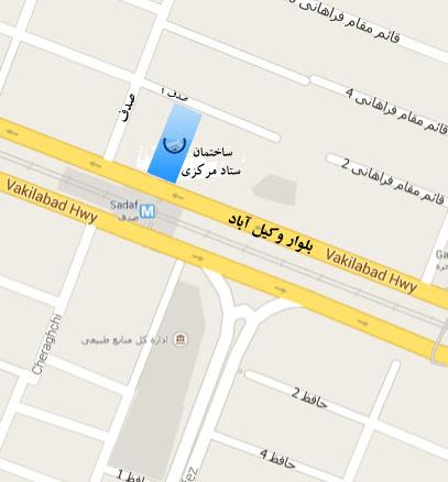 مشاهده نقشه گوگل